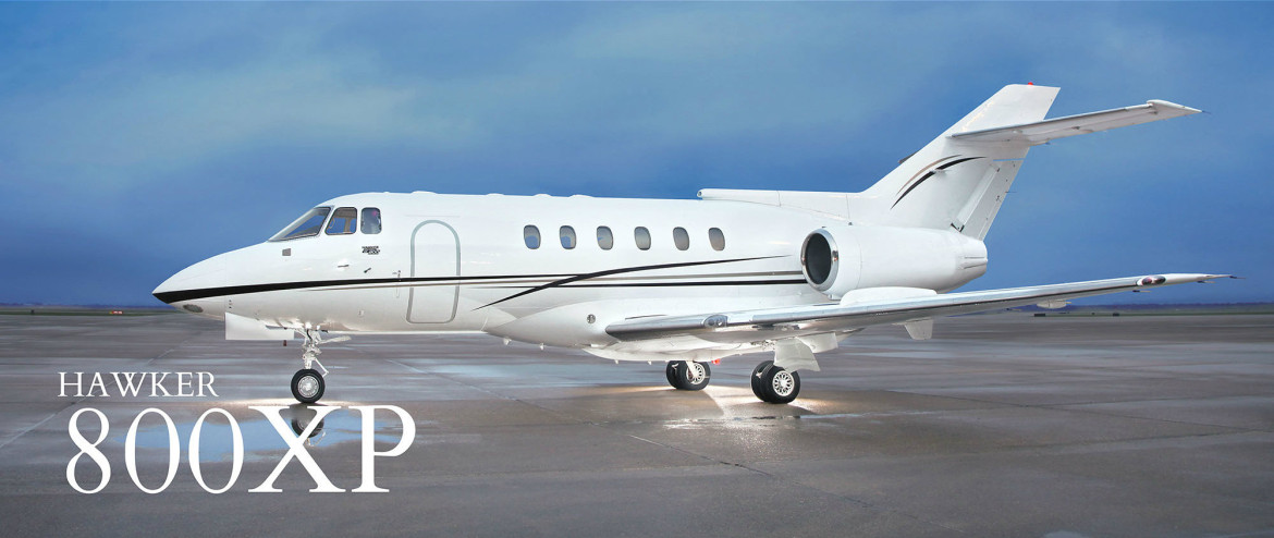 hawker 800xp private jet charter flights ecs jets