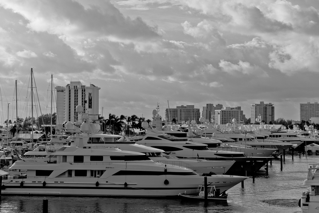 The Ft. Lauderdale International Boat Show